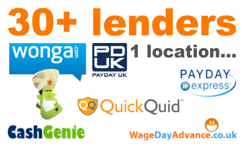 Loans and Sites like Wonga - Guarantor Loan Comparison