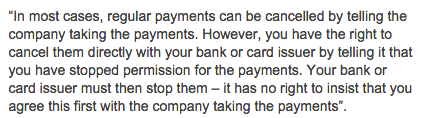 cancel-continuous-payment-authority